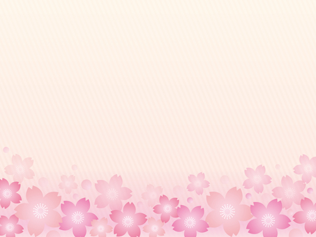 Sakura motif background material 07