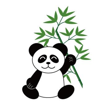 팬더와 대나무