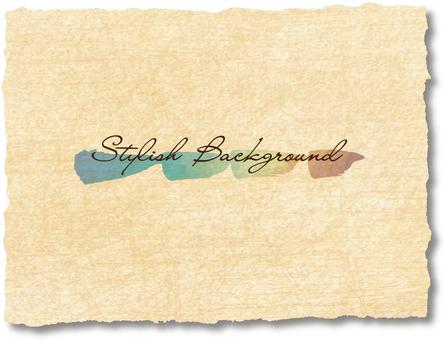 Retro stylish background line watercolor waste paper