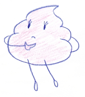 Thinking poo