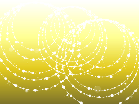 Gold circular light background
