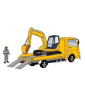 Transport of heavy equipment