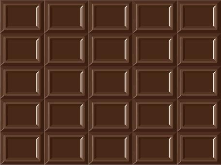 Plate chocolate texture