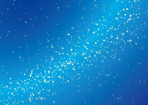 Milky Way - sparkling brush