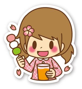 【密封】女孩*櫻花觀賞