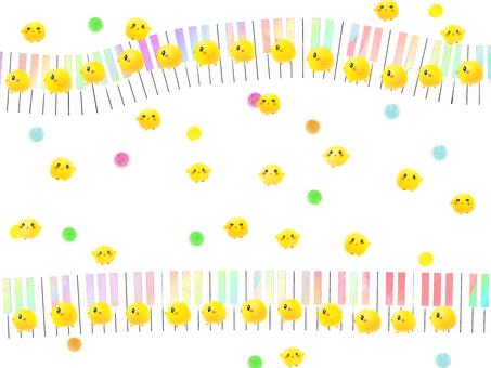 피아노와 병아리