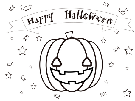Coloring book (Halloween)