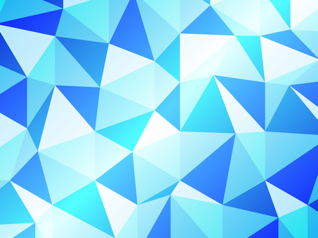 다각형 블루 광채