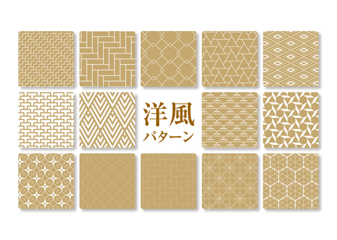 Western-style pattern