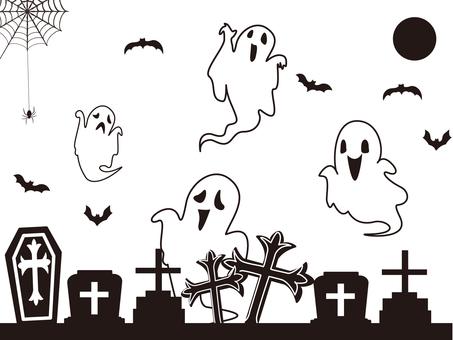 Halloween silhouette ②
