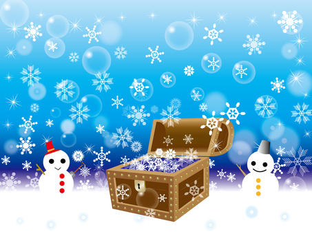Snow Dharma and treasure box