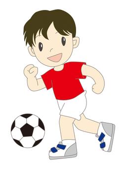 축구 소년 c
