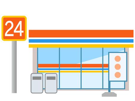51115. Convenience store building