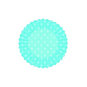Silicone cup (polka dot · blue)
