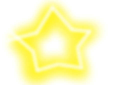 Star 【frame】 yellow