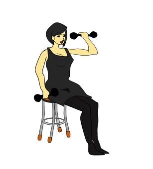 Women's muscle training