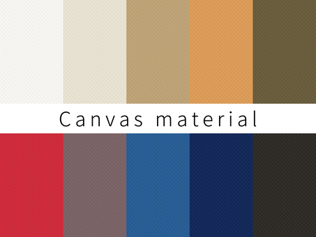 Canvas fabric swatch linen material