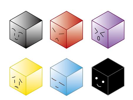Square_ Cube _ Facial expression