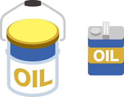 Engine oil icon set