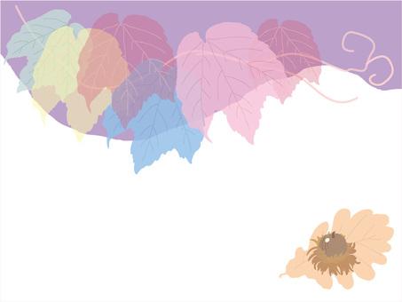 아이비와 도토리 (떡갈 나무)