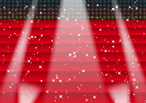 Stairs of Red Carpet