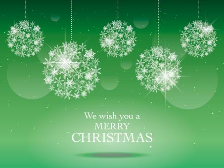 Christmas image 003 green