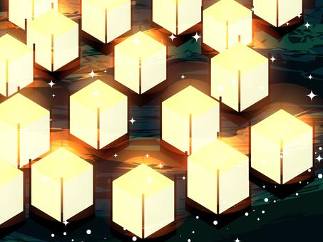 Sink lantern (glitter)