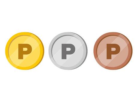 Coin (P mark)