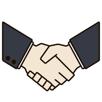 Shake hand color