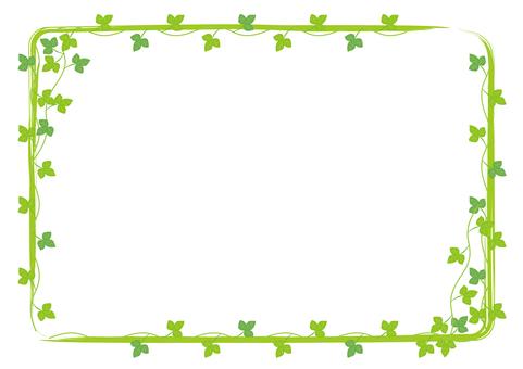 담쟁이 잎 프레임