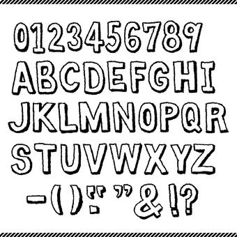 Bag letters Alphabet