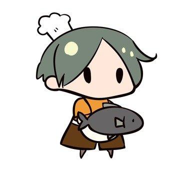 요리하는 여자 4