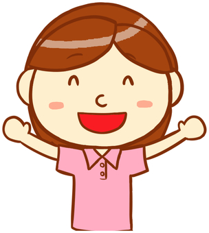 "Polo shirt female (smile) ""Pink"""