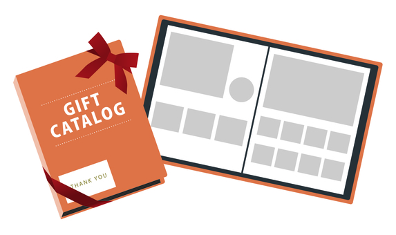 Gift Catalog page Orange