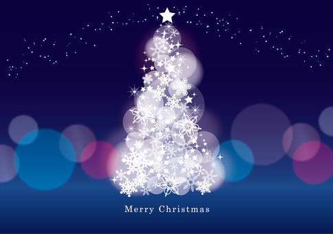 Christmas tree and illumination 1