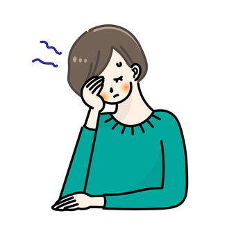 Headache migraine painful female physical condition