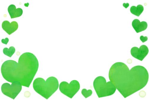 Refreshing green heart