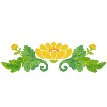Ornament chrysanthemum