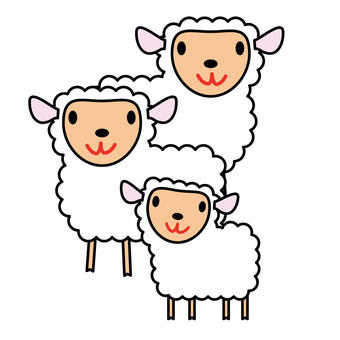 Animals - Sheeps and Children-03