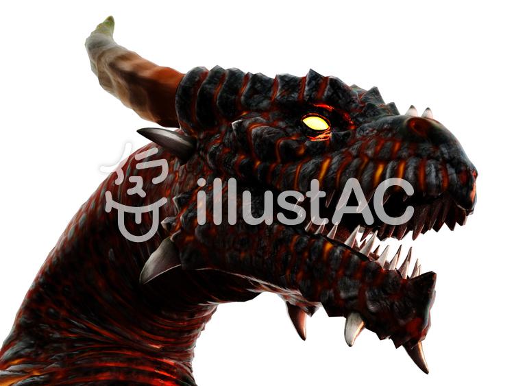 ドラゴン・ヘッドのイラスト