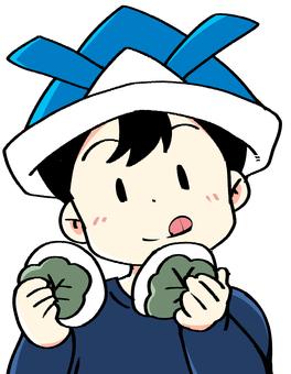 吃三文魚02的孩子