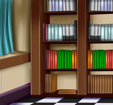 Western-style bookshelf Ver.