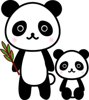 Cha mẹ của Panda