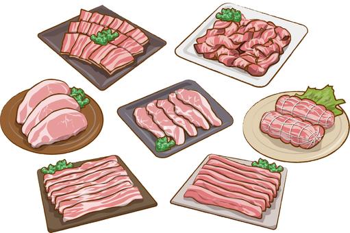Pork set
