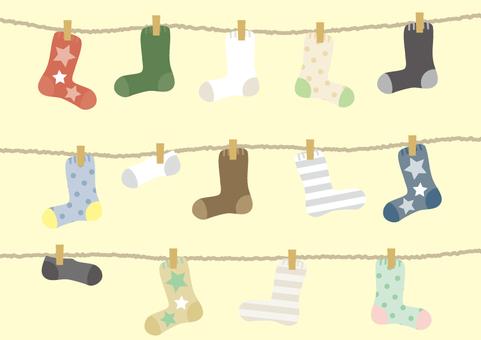 Washing socks
