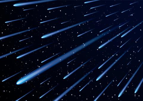 유성 혜성 우주