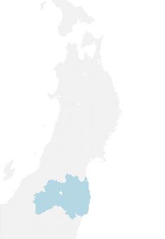 Dot map Fukushima 1