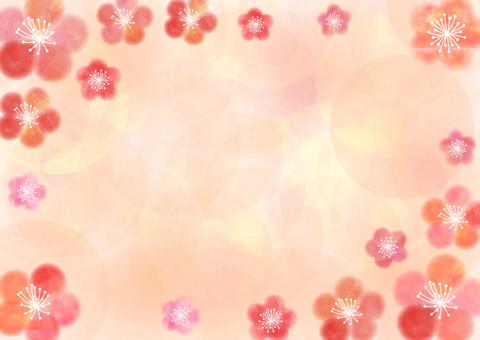 Plum _ pastel _ orange _ background