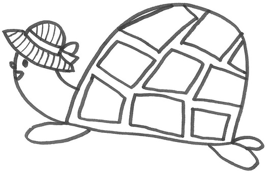 亀 거북 거북 1