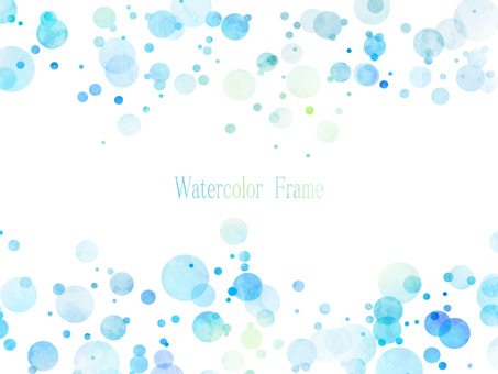 Watercolor frame ver 08